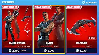 New BLADE *VAMPIRE HUNTER* Skin! (Fortnite Season 4)