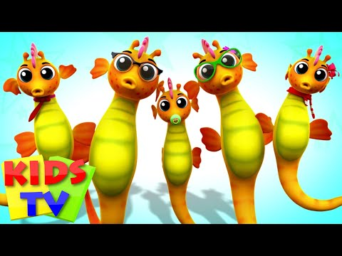 Seahorse Finger Family | Nursery Rhymes For Kids | Baby Songs | Children Rhymes