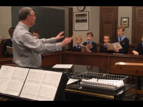 Choir Practice with the Master of the Queen's Music