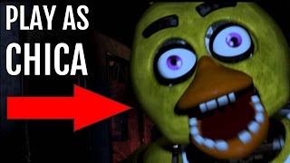 Play as The Animatronic in Five Nights at Freddy's (REVERSE FNAF) - Chica Simulator