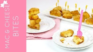 Mac and Cheese Bites (Baked OR Fried) // Lindsay Ann Bakes