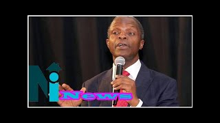 Osinbajo reveals reason for current political issues in Nigeria