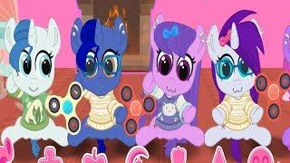 Карманная пони.Играем со спиннерами.Май литл пони.Дружба это чудо.
