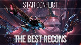 Star Conflict: the best recons