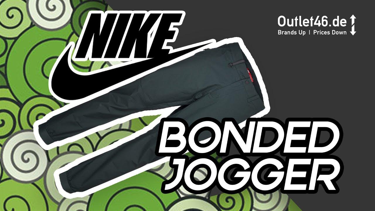 429145cc543 Nike Bonded Jogger l Fashion Piece Oder Work Wear? DEUTSCH l Review l On  Feet l Haul l Outlet46.de