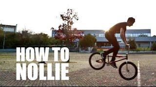 How to Nollie on BMX (Как сделать нолли на БМХ, MTB)   Школа BMX Online #12