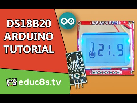 Arduino Digital Thermometer Project - educ8s tv - Watch