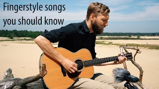 3 Amazing Folk/Blues Fingerstyle Songs For Guitar!