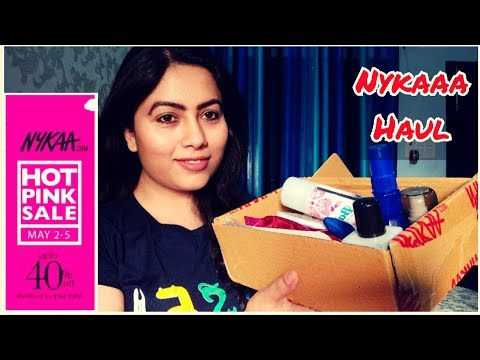 nykaa-hot-pink-sale-haul-under-rs.500-|-nykaa-summer-sale-|-affordable-makeup-&-skincare