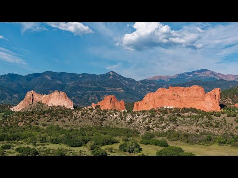 Garden of the Gods, Colorado, USA in 4K Ultra HD
