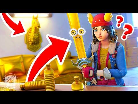 FIND The GOLDEN MIDAS... Or ELSE! (Fortnite Prop Hunt)