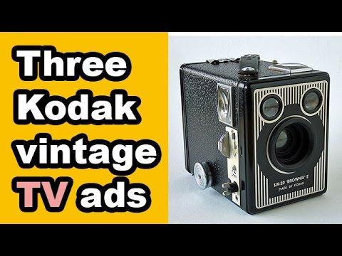 Photography is easy: Three Kodak vintage ads