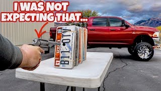 CAN THIS MANY LICENSE PLATES STOP A BULLET? thumbnail