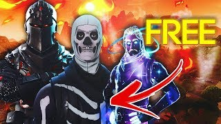 HOW TO GET SKINS AT FORTNITE FOR FREE * IS NOT CLICKBAIT *