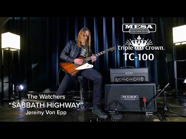 "Tone Sessions: The Watchers – Triple Crown™ TC-100 – ""Sabbath Highway"""
