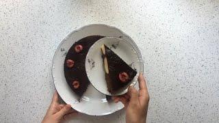 Безглютеновый шоколадный пирог с творожными шариками / Безглютеновые рецепты
