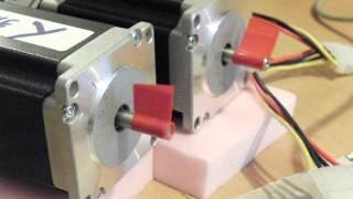 Test pilotage imprimante 3D