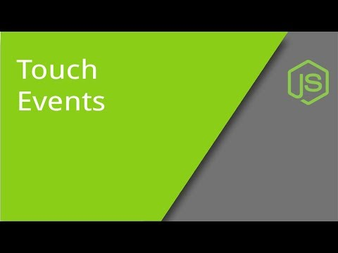 JS Touch Events On Mobile Devices