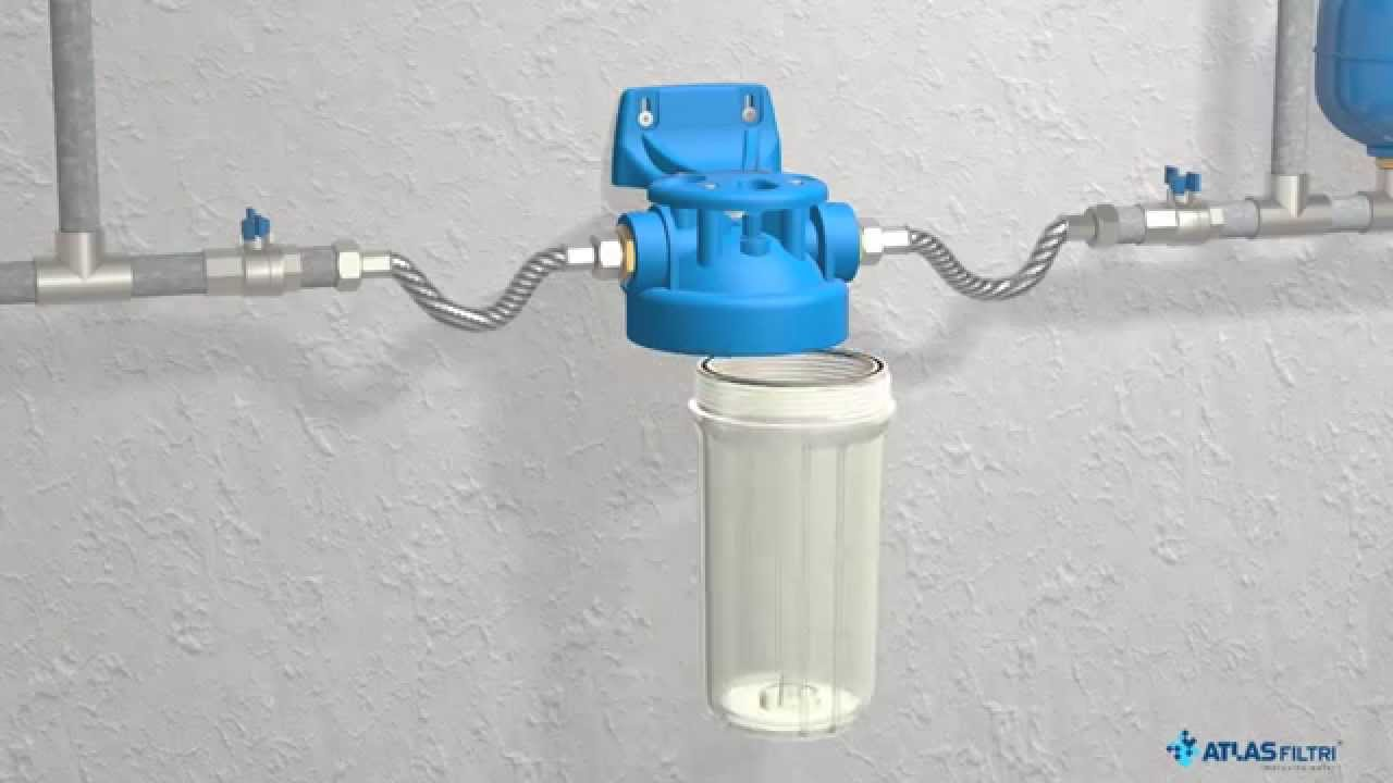 Big water filter housings by atlas filtri youtube for Atlas filtri anticalcare
