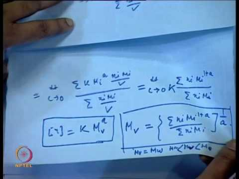 Mod-01 Lec-30 Frictional Properties of Solutions (Contd.) and Determination of Molecular Weight