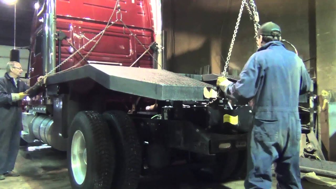 Rv Hauler Smart Car Hydraulic Loader Bed Deck - Build Video 1