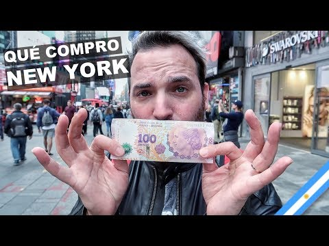 QUÉ COMPRO CON $100 EN NEW YORK