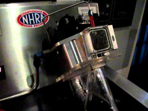 NHRA top fuel pump demo