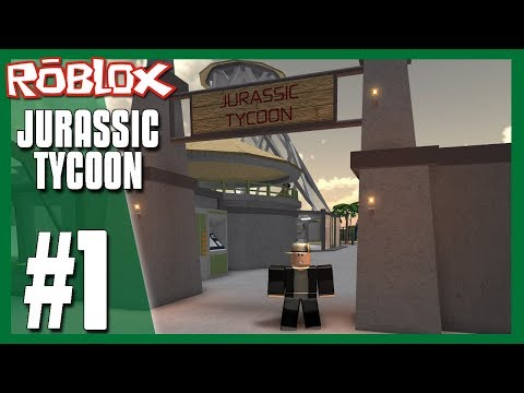 Welcome To Jurassic Tycoon Roblox Jurassic Tycoon 1 Youtube