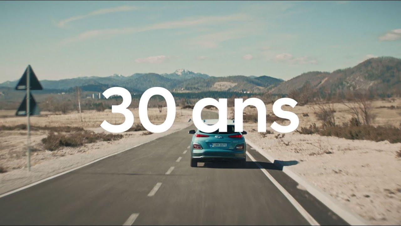 Hyundai célèbre 30 ans d'électrique