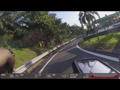 80 minutes indoor cycling workout Subang - Klang motorlane 720p