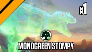 Monogreen Stompy - M21 Standard P1   MTG Arena