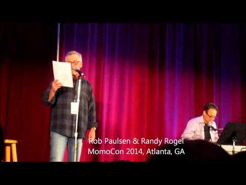 UPDATED Yakkos World!  Rob Paulsen & Randy Rogel at MomoCon 2014