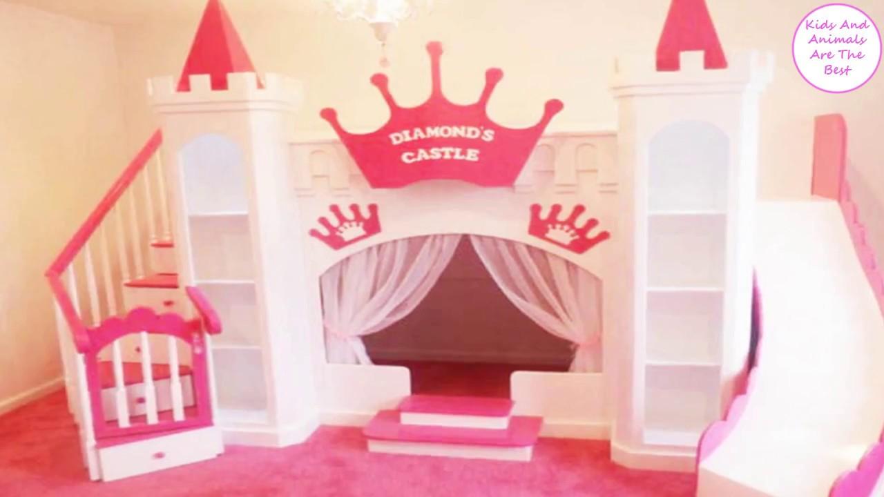 Princess Castle Bunk Bed Youtube