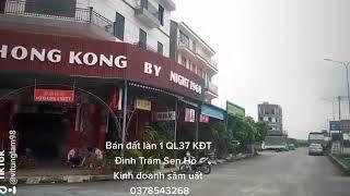 Bán đất làn 1 QL 37 Khu đô thị Đình Trám Sen Hồ - Kinh doanh buôn bán sầm uất