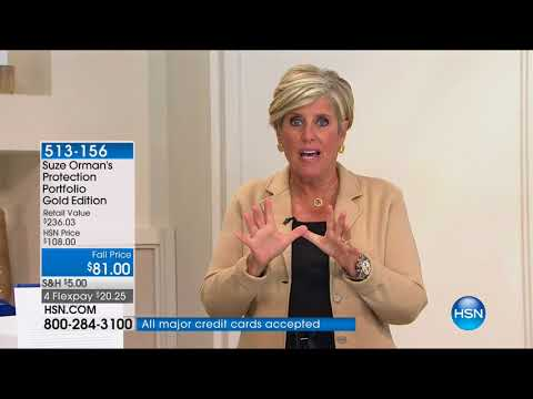 HSN | Suze Orman Financial Solutions for You 09.17.2017 - 05 AM