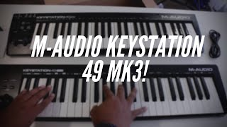 M-Audio Keystation 49 MK3 Unboxing and Comparison to MK2!