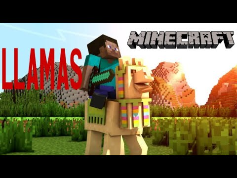 ALL About *LLAMAS* In Minecraft - How To Tame, Ride, Control Etc.