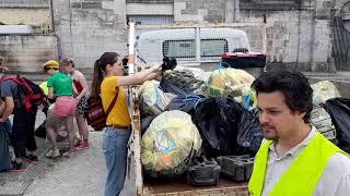 Ramassage de déchets à Angoulême dimanche 21 avril