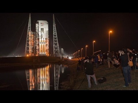 NASA launches new Orion spacecraft