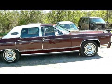Sold 1978 Lincoln Continental Town Car Low Miles Youtube