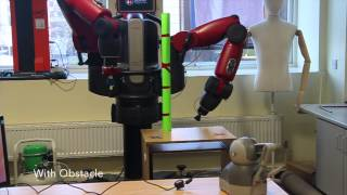 Shared Control for Teleoperation enhanced by Autonomous Obstacle Avoidance of Robot Manipulator
