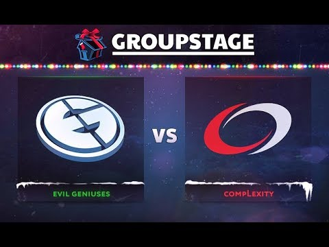 Evil Geniuses vs compLexity Game 3 - DOTA Summit 8: Group B - @DakotaCox @Fogged @GranDGranT @Bulba