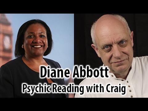 Diane Abbott - Psychic Reading. Racist? Rubbish!!