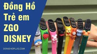 Cách chỉnh giờ đồng hồ điện tử giá rẻ màn hình led, Zgo Disney, Ulzzang, Pagini led,