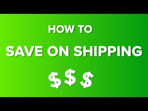 How To Save On Shipping