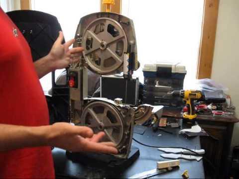 Ryobi 9 Inch Bandsaw Setup Balancing Amp Metal Cutting
