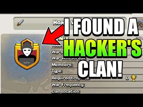 THIS CHEATERS CLAN WILL AMAZE YOU | Hackers Clan | Clash Of Clans |