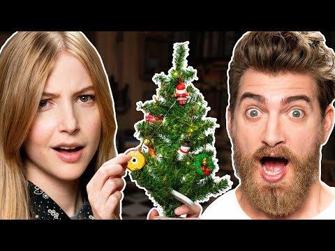 Mini Christmas Tree Decorating Challenge