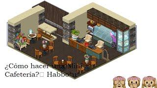 Habbo tutorial como hacer un starbucks o cafeter a for Habbo decoraciones