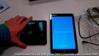 видео Asus VivoTab Note 8 – еще один компактный планшет с Windows 8.1